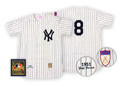 1951 New York Yankees Vintage Baseball Jersey (#8, Yogi Berra)