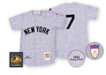 1951 New York Yankees Vintage Road Jersey (Mickey Mantle)